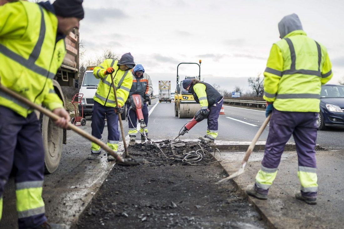 Karbantartási munkálatok az M1-es autópályán