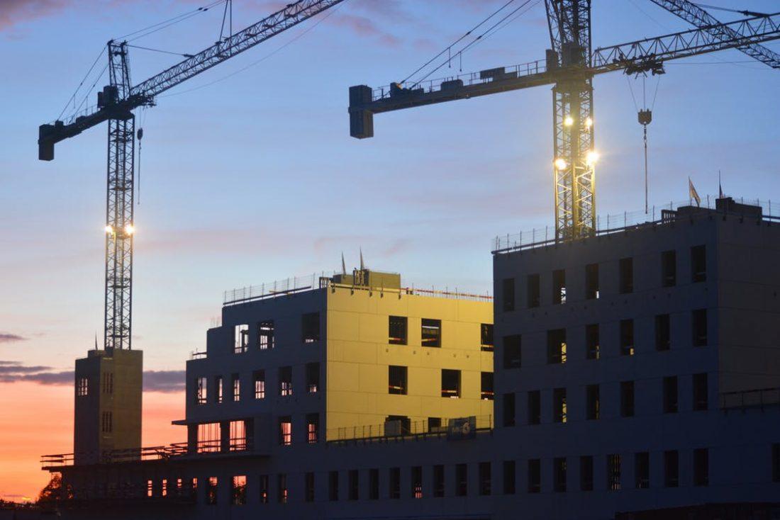 Építőipari növekedés