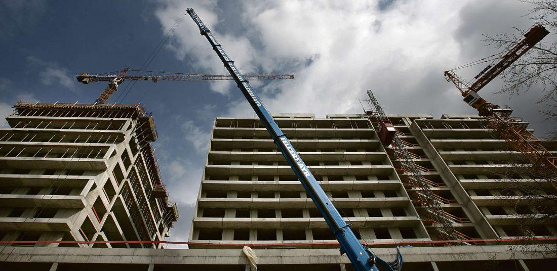 A beruházások uralják az építőipart