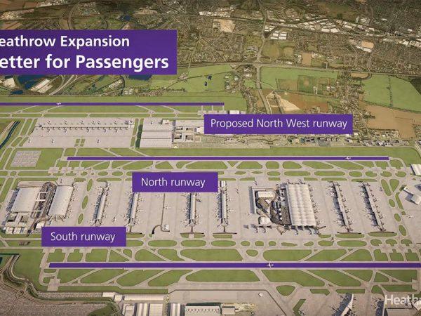 Heathrow új kifutó