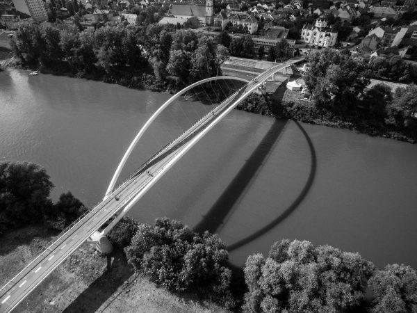 Tiszavirág híd fentről