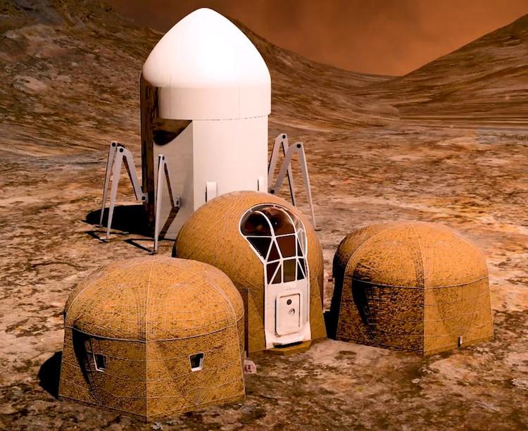 Mars 3D nyomtatás