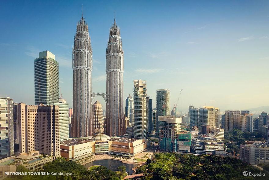 Petronas-ikertornyok