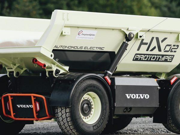 Volvo a bányában