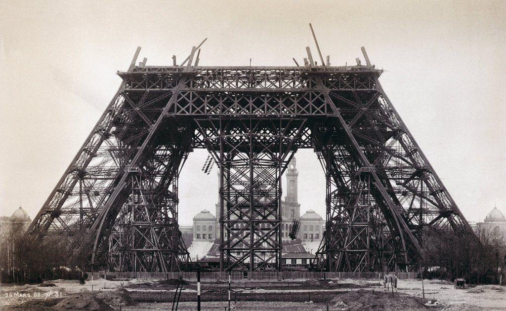 Az Eiffel-torony építése