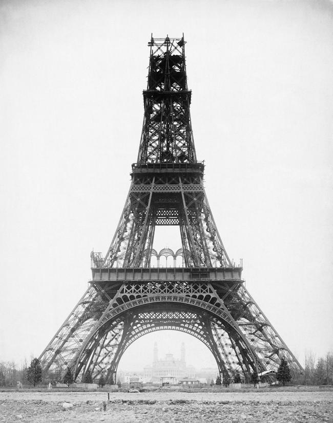 Eiffel-torony első szintek