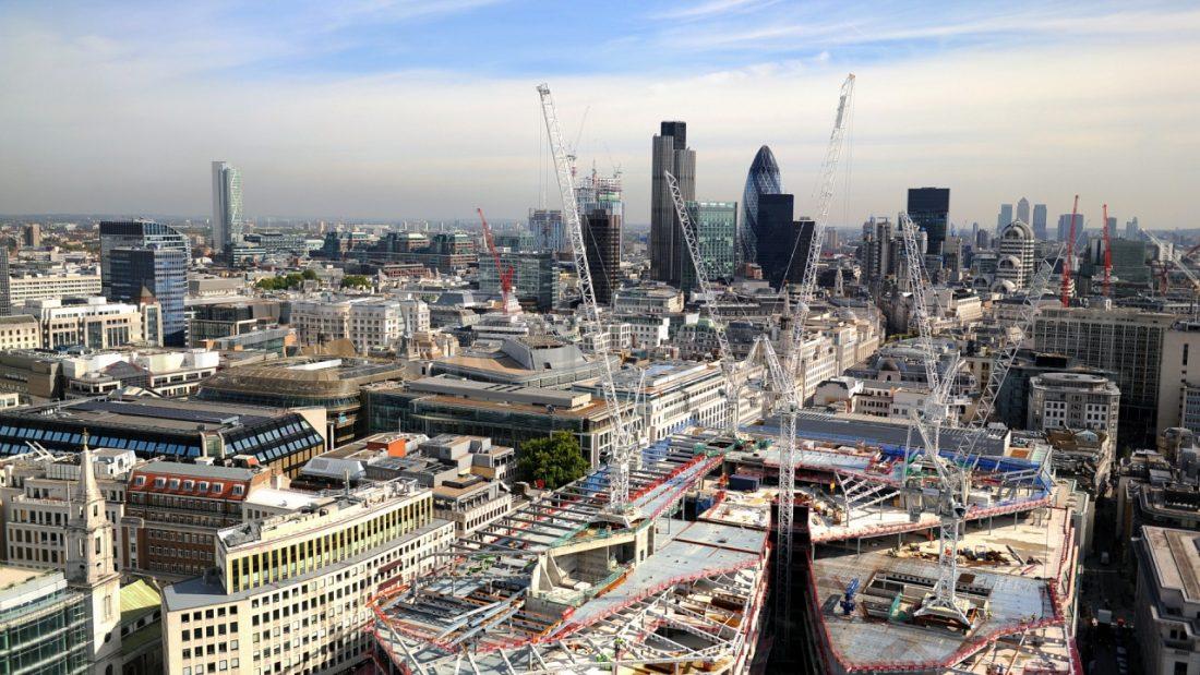 Londoni építkezés