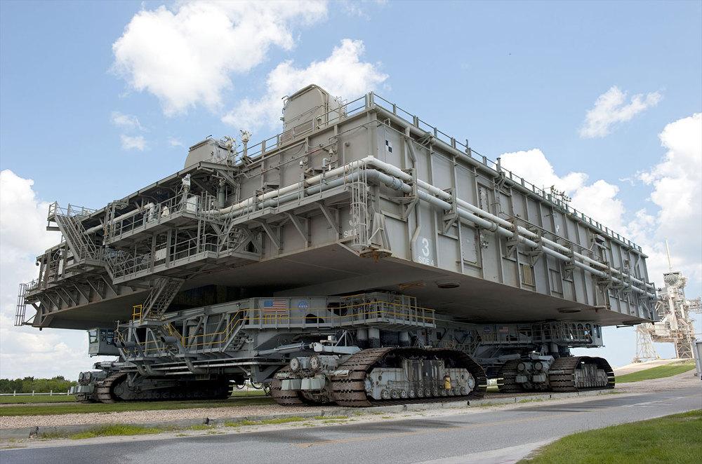 NASA Crawler Transporter - Gépóriások