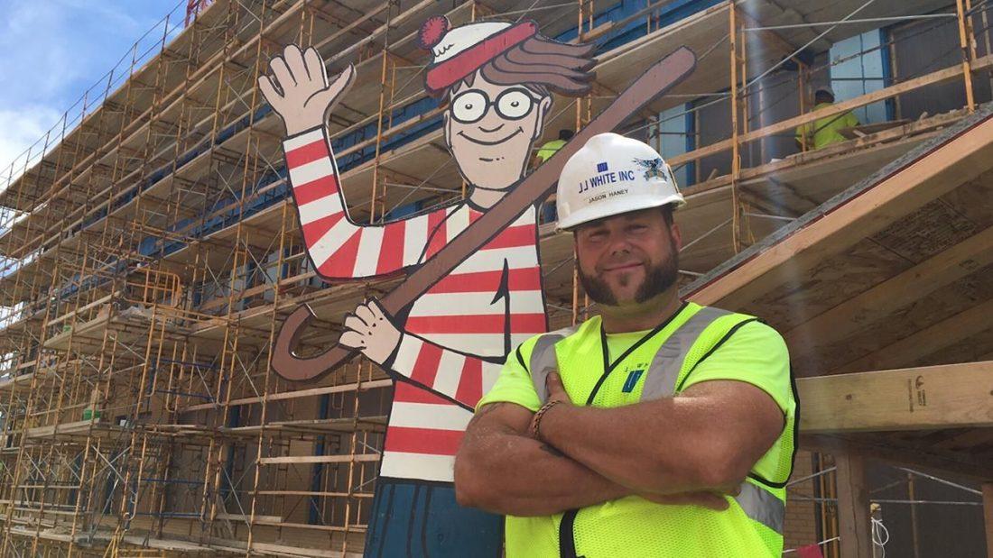 Waldo építkezés