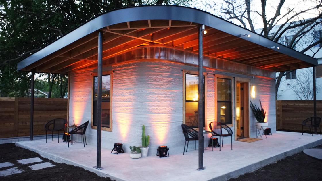 Technológia - 3D nyomtatású ház