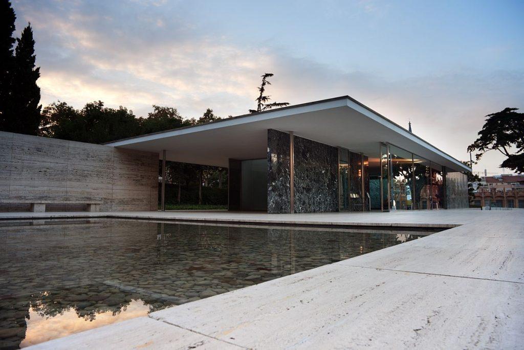 Építészek- Barcelona pavilon