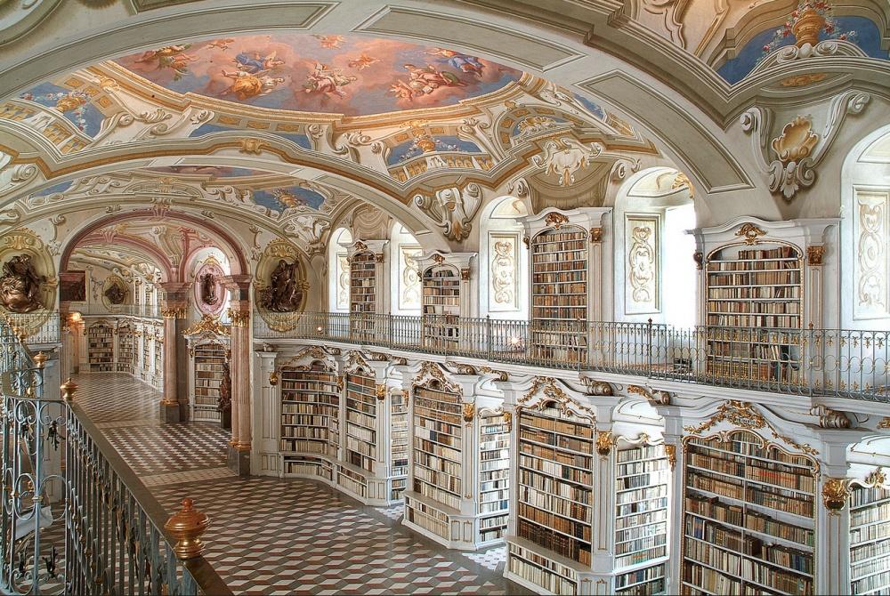 Admont, könyvtár