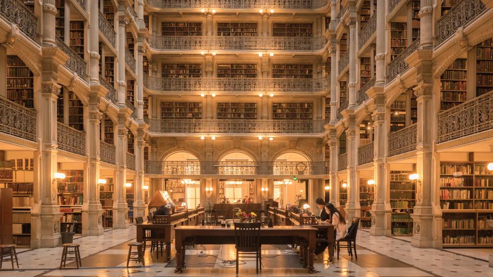 George Peabody könyvtár