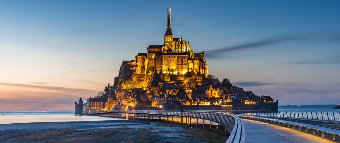 Középköri épületek - Mont-Saint-Michel