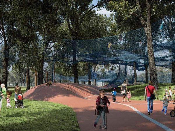 Liget Budapest - családbarát fejlesztések