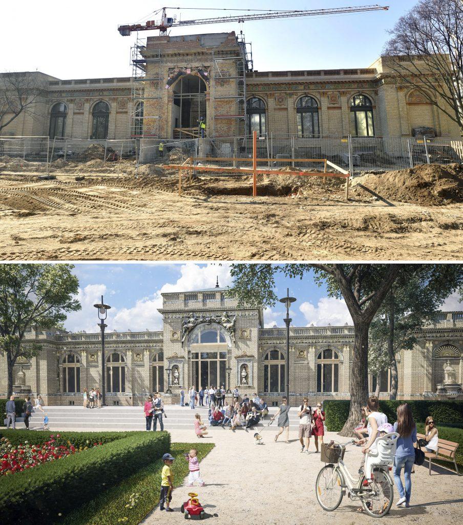 Liget Budapest - Olof Palme Ház rekonstrukció