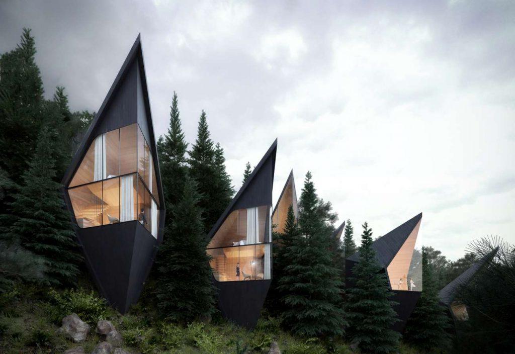 Futurisztikus faházak