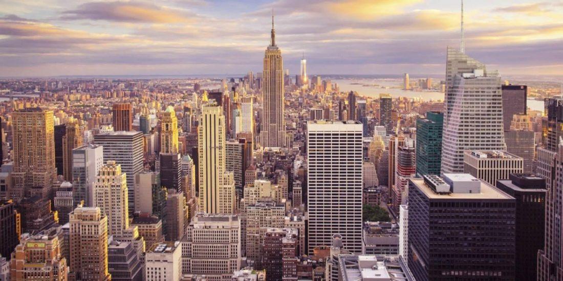 New York felhőkarcolókkal