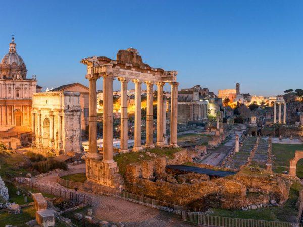 Róma egykor és ma