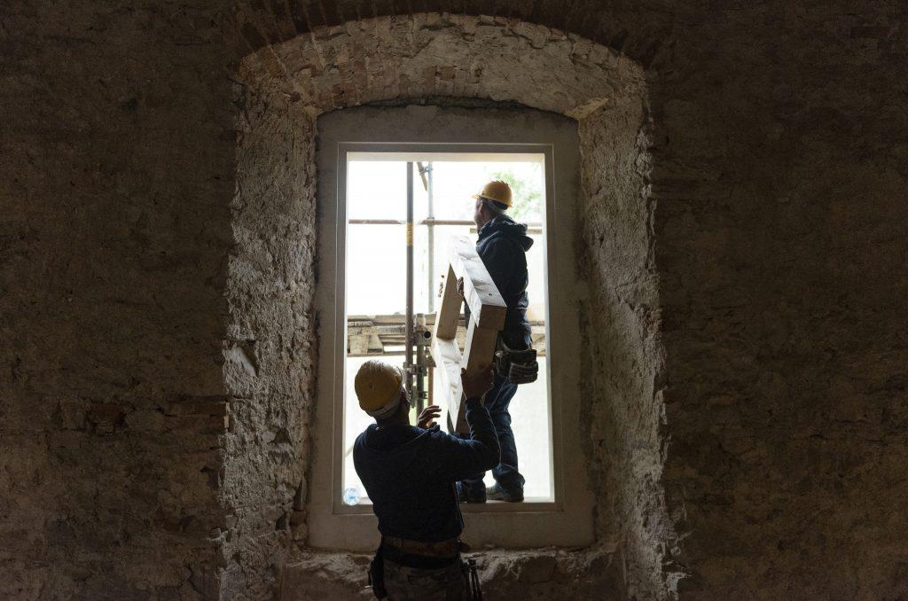 Folytatódik a borsi Rákóczi-kastély felújítása