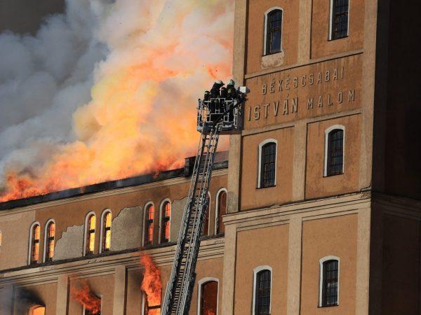 Leégett az István-malom