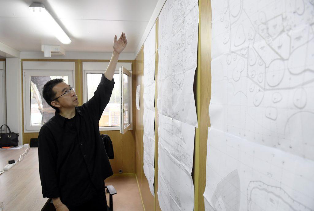 Fudzsimoto Szú, a Magyar Zene Háza tervezője