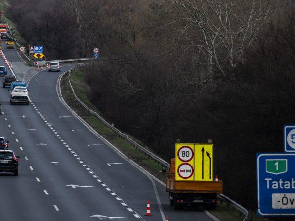 Javítási munkálatok kezdődnek az M1-es autópályán