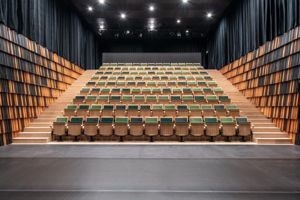 A Nemzeti Táncszínház nagyterme. Fotó: Hlinka Zsolt
