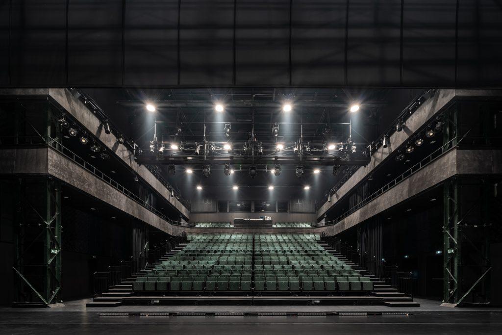 A Nemzeti Táncszínház nagyterme