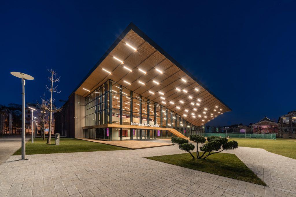 A Nemzeti Táncszínház új épülete