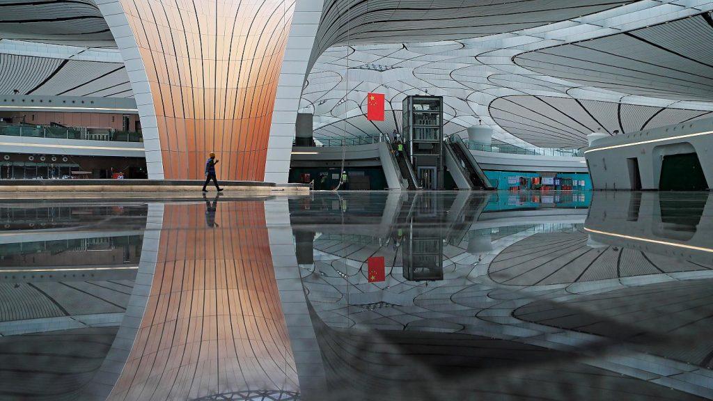 Peking második nemzetközi repülőtere