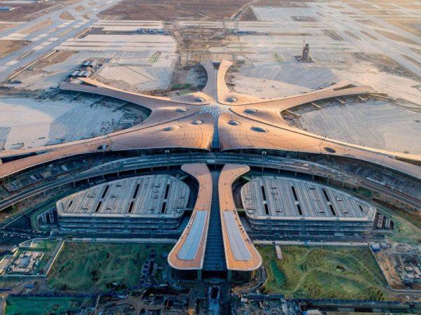Elkészült Peking második nemzetközi repülőtere