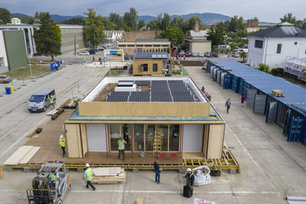 Solar Decathlon Europe 2019 - Nemzetközi innovációs házépítõ verseny Szentendrén