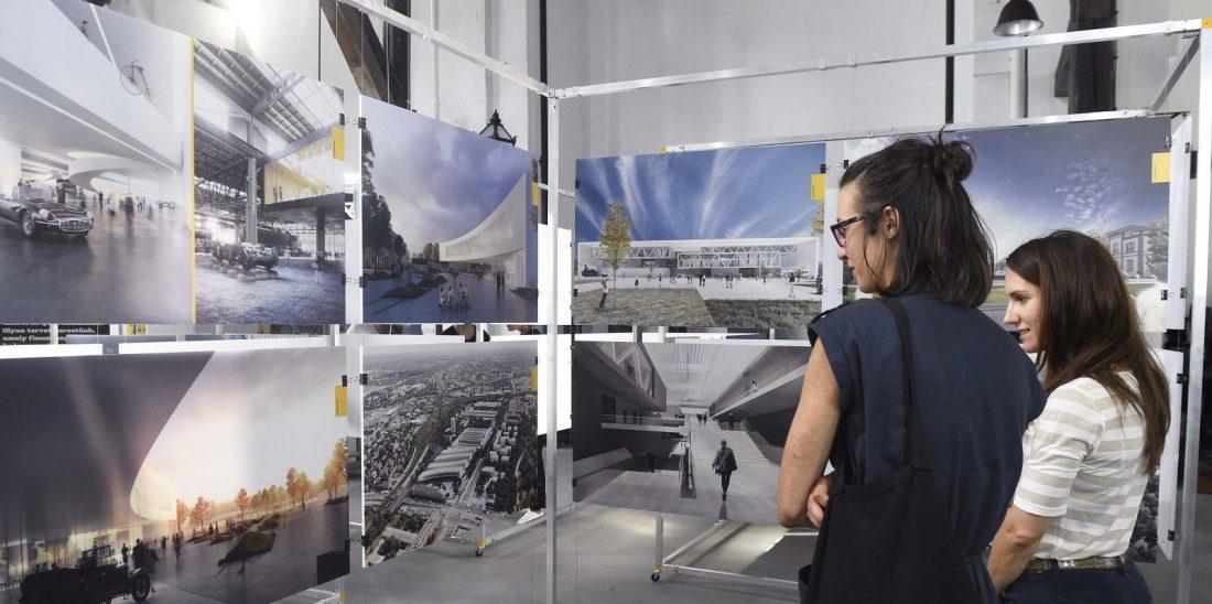 Kiállítás az új Közlekedési Múzeum látványterveiből