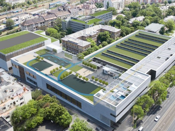 A Testnevelési Egyetem új campusa