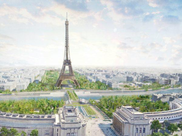 Megújul az Eiffel-torony körüli park
