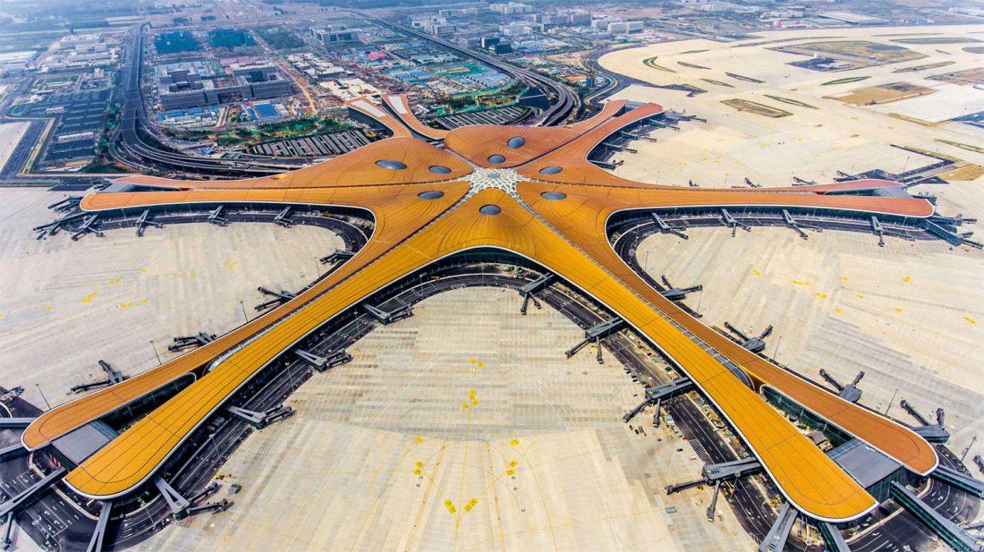 Hivatalosan is megnyílt Peking második nemzetközi repülőtere