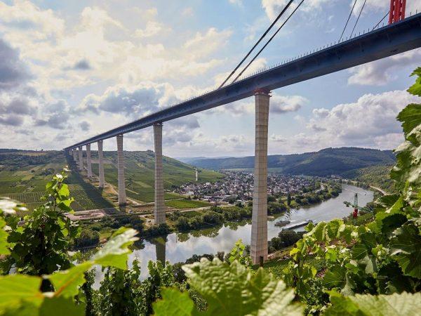 Elkészült a Mosel felett átvezető híd