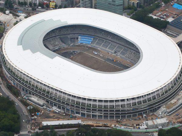 Elkészült a tokiói Olimpiai Stadion