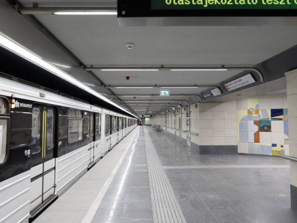 Folytatódik a 3-as metróvonal déli szakaszának felújítása