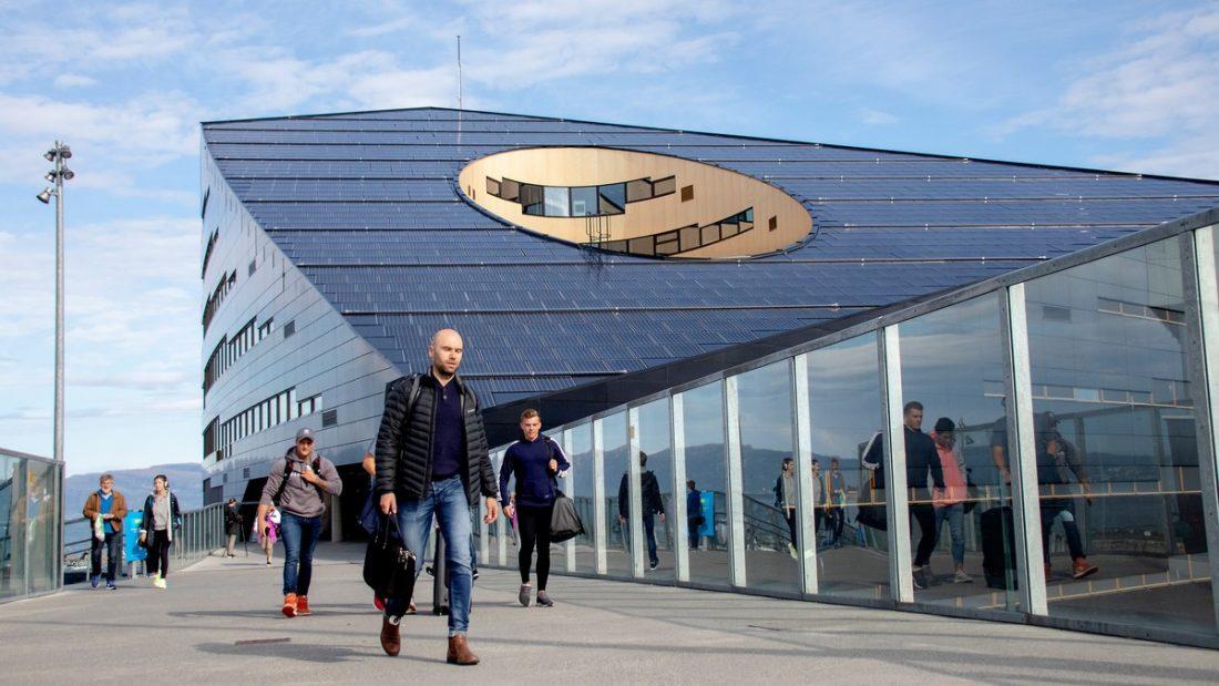 Energiapozitív épület Norvégiából