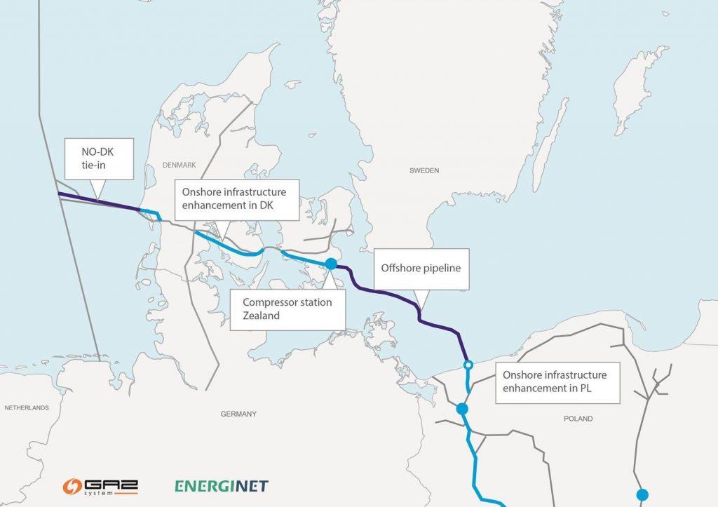 Megkezdődik a Baltic Pipe gázvezeték építése