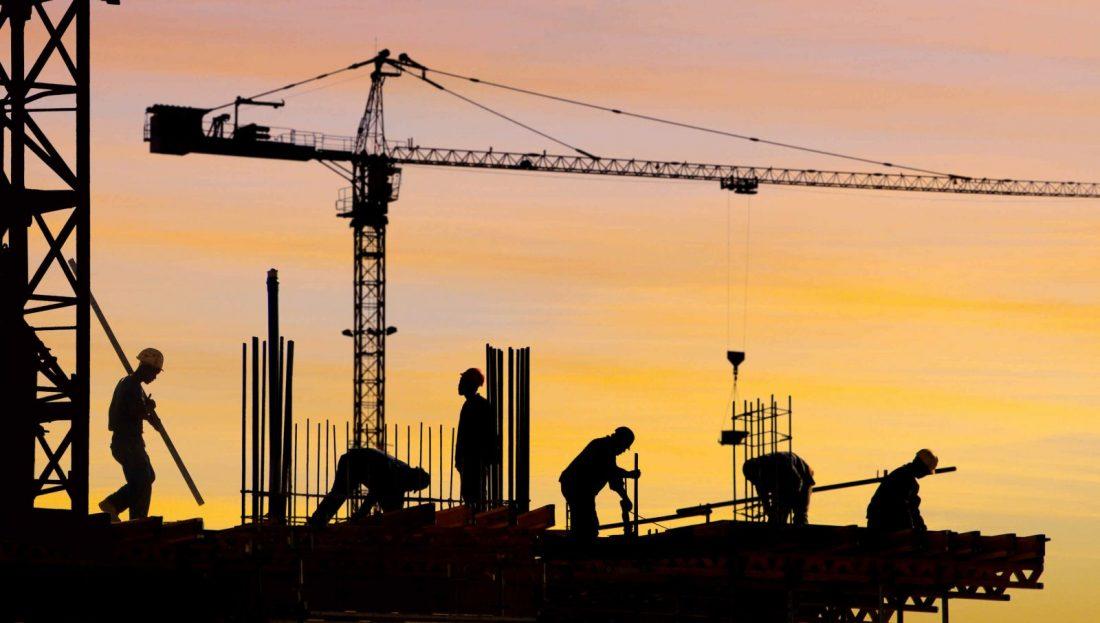 Márciusban csökkent az építőipari termelés