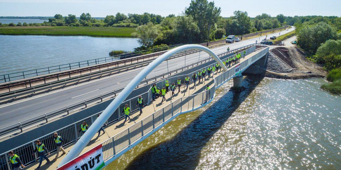 Hamarosan befejezik a Tiszafüred-Poroszló közötti kerékpárutat