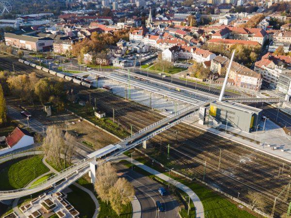Elkészült a kaposvári intermodális pályaudvar