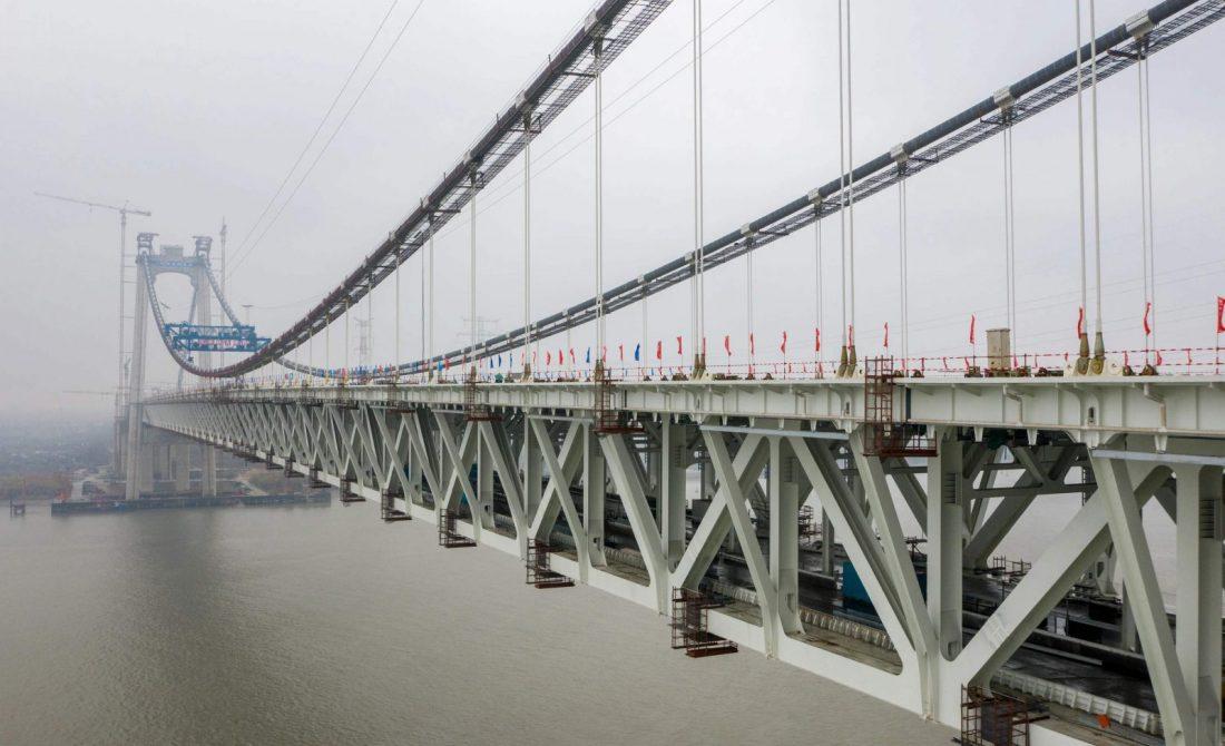 Híd épült a szupergyorsvonatok közlekedésére