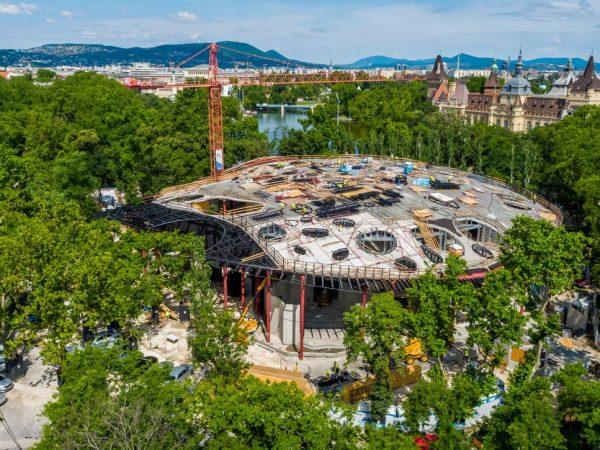Az év legjobban várt épületei között a Magyar Zene Háza