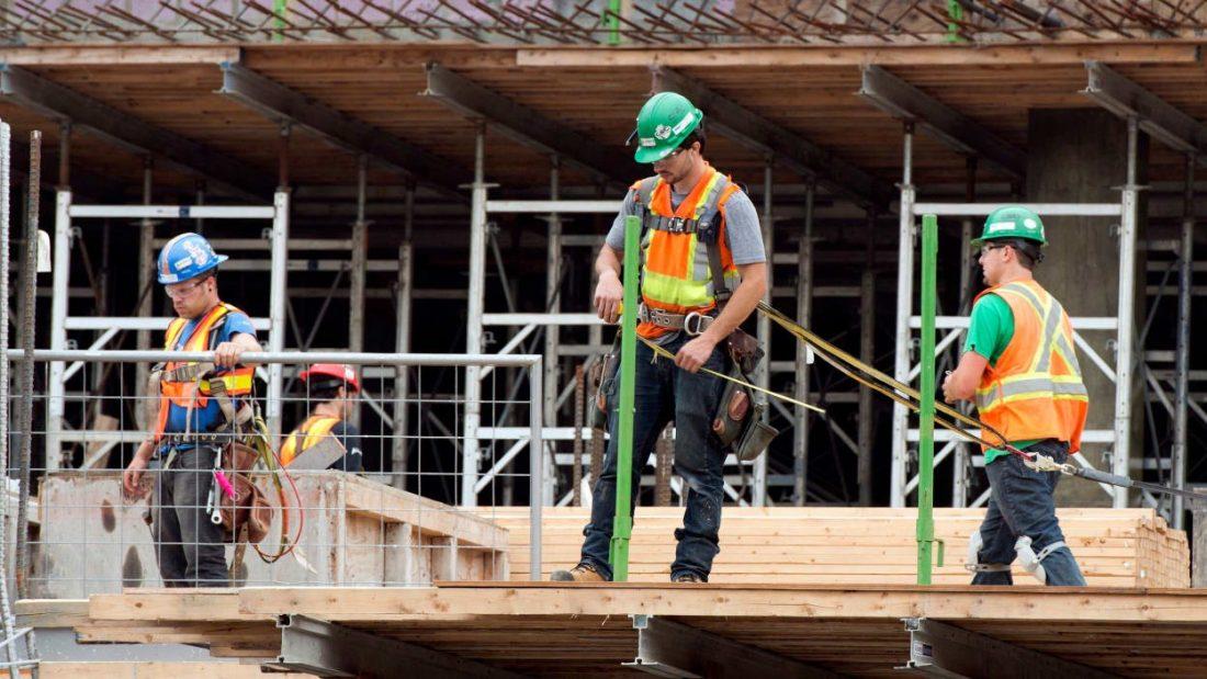 Megnőtt az építőipari álláskeresések száma