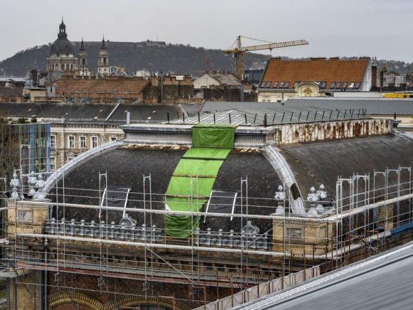 Szeptemberre befejeződik a Nyugati pályaudvar felújítása