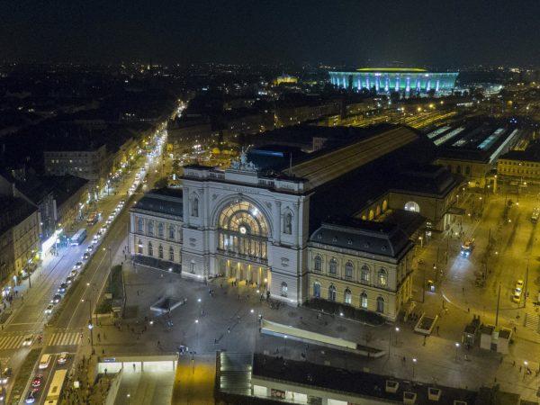 Ütemterv szerint halad a Keleti pályaudvar az utascentrumának kialakítása